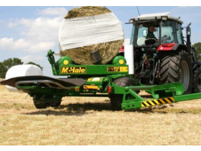 991BE – Round Bale Wrapper